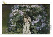 The Lilac Bush Carry-all Pouch