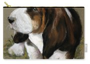 The Little Basset Carry-all Pouch by Mary Sparrow