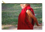 The Little Monk Of Mingun Carry-all Pouch by RicardMN Photography