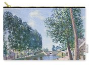 The Loing Canal At Moiret Carry-all Pouch