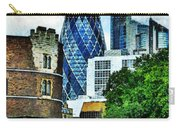 The London Gherkin  Carry-all Pouch
