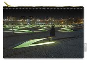 The Lonely Tourist At Pentagon Memorial Carry-all Pouch