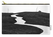 The Long And Winding Road Bw Carry-all Pouch