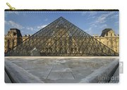 The Louvre Pyramid Paris Carry-all Pouch