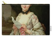 The Love Letter Carry-all Pouch by Francois Martin-Kayel