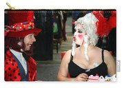 The Mad Hatter And The Red Queen Carry-all Pouch