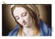 The Madonna Praying Carry-all Pouch by Il Sassoferrato
