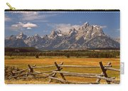 The Majestic Tetons Carry-all Pouch