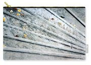 The Marble Steps Of Life Carry-all Pouch by Vicki Ferrari