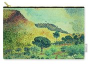 The Maures Mountains Carry-all Pouch by Henri-Edmond Cross