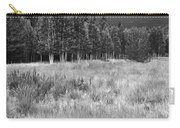 The Meadow Black And White Carry-all Pouch