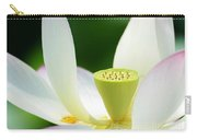 The Middle Of A Lotus Carry-all Pouch