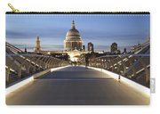 The Millennium Bridge Looking North Carry-all Pouch