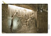 The Miracle At Cana In Galilee - Wieliczka Salt Mine Carry-all Pouch