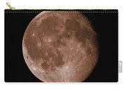 The Moon In Sepia Carry-all Pouch