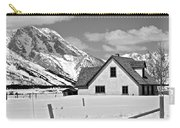 The Moulton House In Winter Carry-all Pouch