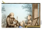 The Mozart Family On Tour 1763 Carry-all Pouch