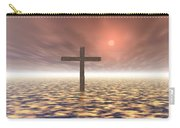 The Mystery Of The Cross Carry-all Pouch