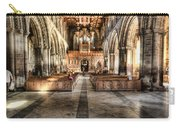 The Nave At St Davids Cathedral 3 Carry-all Pouch