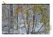 The October Blizzard Begins Carry-all Pouch