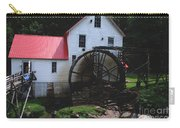 The Old Mill 1886 In Cherokee North Carolina Carry-all Pouch