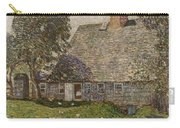 The Old Mulford House Carry-all Pouch by Childe Hassam