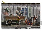 The Old Shed Carry-all Pouch by Mary Machare