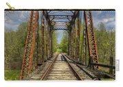 The Old Trestle Carry-all Pouch by Debra and Dave Vanderlaan