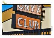 The Onyx Club Carry-all Pouch