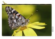 The Painted Lady And The Daisy  Carry-all Pouch
