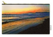 The Painted Waves Of Dawn  Carry-all Pouch