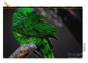 The Parrot Fractal Carry-all Pouch