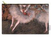 The Pas Battu Carry-all Pouch by Edgar Degas