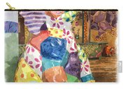 The Patchwork Elephant Art Carry-all Pouch