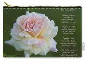 The Peace Rose Carry-all Pouch