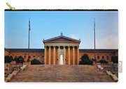 The Philadelphia Museum Of Art Front View Carry-all Pouch