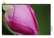 The Pink Rose Bud Carry-all Pouch