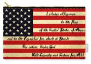 The Pledge Of Allegiance Carry-all Pouch