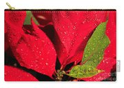 The Poinsettia Carry-all Pouch
