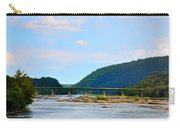 The Potomic River West Virginia Carry-all Pouch by Bill Cannon