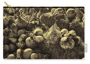 The Produce Of The Earth In Sepia Carry-all Pouch