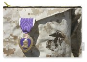 The Purple Heart Award Hangs Carry-all Pouch by Stocktrek Images