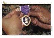 The Purple Heart Award Carry-all Pouch