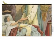 The Raising Of Jairus' Daughter Carry-all Pouch