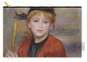 The Rambler Carry-all Pouch by Pierre Auguste Renoir