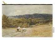 The Reapers Carry-all Pouch by Helen Allingham