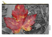 The Red Leaf Carry-all Pouch