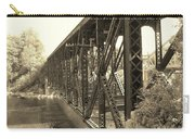 The Retired Railroad Bridge Carry-all Pouch