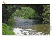 The River Dove Beneath Coldwall Bridge Carry-all Pouch