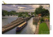 The River Thames At Goring Carry-all Pouch